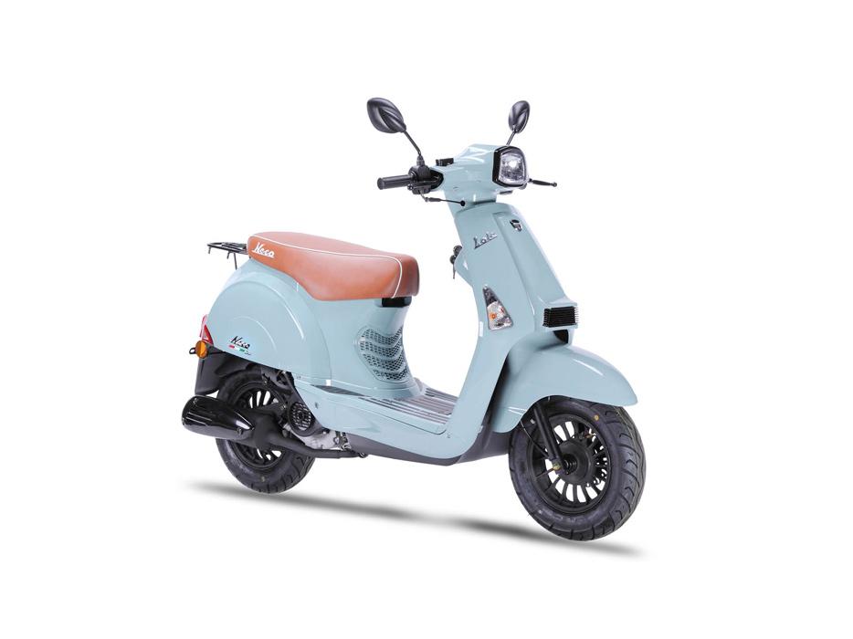 neco lola 50cc neco scooters ireland. Black Bedroom Furniture Sets. Home Design Ideas